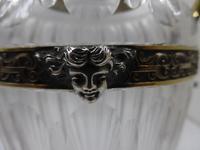 Antique Silver Parcel Gilt Claret Jug. 800 Standard c.1880 (9 of 9)