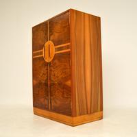 Art Deco Figured Walnut Compactum  Wardrobe (6 of 11)