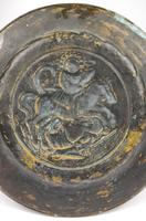 16th Century Alms Dish Depicting George & The Dragon (2 of 4)