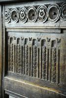 Charles I Oak Panel Chest (7 of 10)