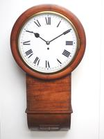Antique Industrial Railway all Clock – Drop Dial Station Clocked Number 5478 (15 of 15)