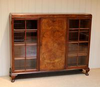 Burr Walnut Bookcase by Heals (4 of 11)