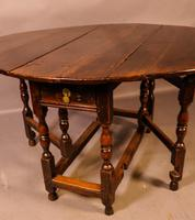 17th Century Gateleg Dining Table c.1680 (7 of 13)