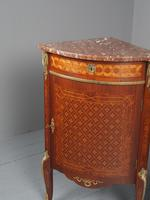 Matched Pair of French Inlaid Corner Cabinets (3 of 18)
