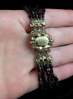 Victorian Bohemian Garnet Bead Bracelet (11 of 11)