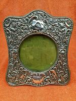 Antique Sterling Silver Hallmarked Picture Frame 1906 J & R Griffin Chester (6 of 12)