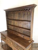 Antique Oak Pot Board Dresser (13 of 18)