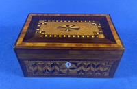 Victorian Rosewood Box With Inlay (8 of 17)