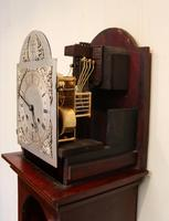 Westminster Chime Mahogany Grandmother Clock (12 of 12)