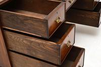 Antique Burr Walnut  Leather Top Desk (10 of 13)