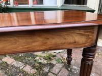 Antique Mahogany Side Table Desk (11 of 11)