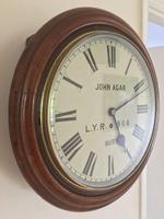 Eight Day Rare High Quality Lancs / Yorks Railway Clock (10 of 12)