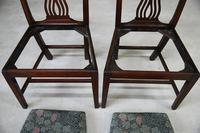 Pair of Antique Chippendale Style Dining Chairs (2 of 12)