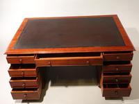 Very Good Late Regency Mahogany Partners Desk (4 of 4)