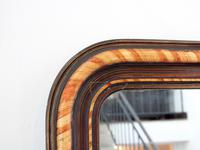 19th Century Louis Philippe Faux Grained Mirror (4 of 6)