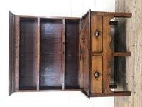 Small Antique Oak Farmhouse Country or Cottage Dresser (6 of 12)