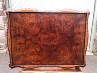 Antique Burr Walnut Nest of 3 Tables (8 of 8)