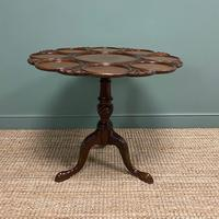 Quality Victorian Mahogany Antique Supper Table (2 of 9)