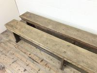 Pair of Antique Oak Refectory Benches (7 of 12)