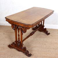 Walnut Writing Table 19th Century (11 of 14)