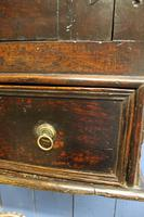 Late 17thC Oak Hanging Wall Cupboard. Mural or Spice Cabinet (9 of 17)
