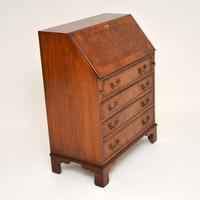 Antique Burr Walnut  Writing  Bureau (10 of 12)