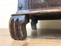 Antique Oak Coal Box or Scuttle (7 of 11)