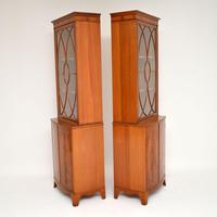Pair of Antique Mahogany Waring & Gillows Bookcases (3 of 9)