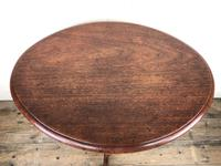 Victorian Mahogany Oval Side Table (4 of 6)