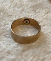 9ct. Gold Star Set Single Diamond Ring. 1957 (4 of 5)