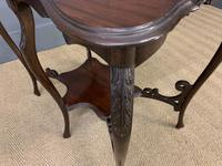 Rococo Style Mahogany Occasional Table (6 of 10)