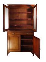 Glazed Mahogany Bookcase (4 of 8)