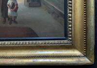 'Sunday Morning' An Enchanting Original 19thc Portrait Oil Painting' (12 of 14)