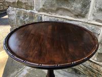 Antique Mahogany Tripod Wine Table (4 of 5)