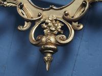 Victorian French Giltwood Girandole Mirror (7 of 10)