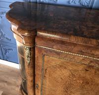 Victorian Burr Walnut Inlaid Credenza With Ormolu Mounts (22 of 27)