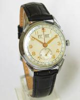 Gents 1950s Triple Date Wristwatch (2 of 5)