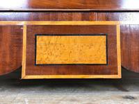 Wide Antique Mahogany Chest of Drawers (5 of 12)