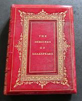 1870 The Heroines of Shakspeare Large Illustrated Edition Deluxe Full Leather (5 of 5)