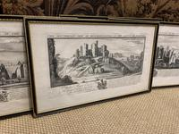 Set of 9 Framed Prints of Historic Castles & Abbeys (5 of 10)
