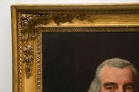 Antique Giltwood Framed Oil Painting Portrait (8 of 12)