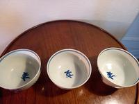 First Period Worcester Tea Bowls (2 of 7)