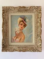 Jules Gustave Lempereur - Pair of Parisian Ladies - Oils on Canvas (3 of 5)