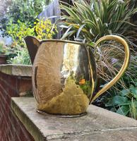 Large 18th Century Brass Pouring Jug (8 of 9)