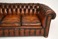 Antique Victorian Style Deep Buttoned Leather Chesterfield Sofa (5 of 8)