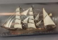 Antique Ship in a Bottle, Nautical (9 of 12)