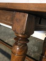 Very Early Oak Farmhouse Refectory Dining Table (28 of 31)