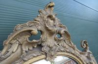 19th Century Decorative Gilt-framed Pier Mirror with Shelf (3 of 6)