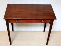 Early 19th Century Mahogany Side Table c.1820 (2 of 10)