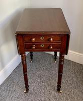 Victorian Mahogany Drop Flap Work Table (18 of 18)